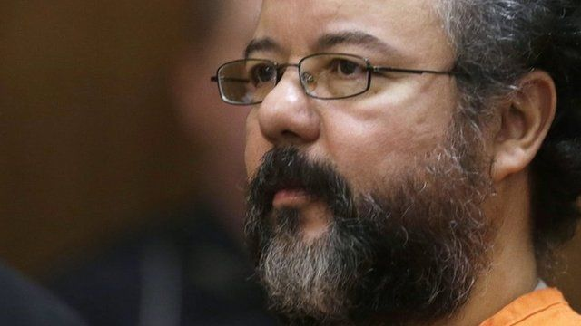 Ariel Castro in court on 1 Augusy 2013