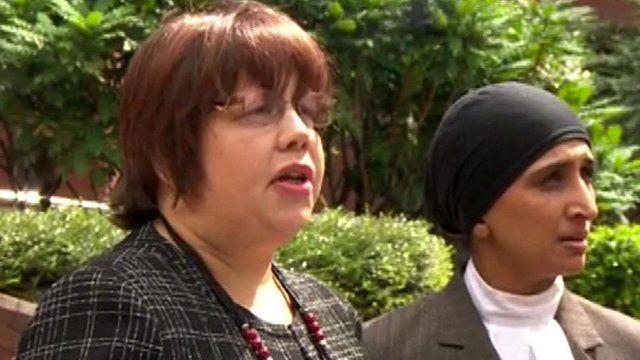 Senior Crown Prosecutor Lisa Windridge (left)