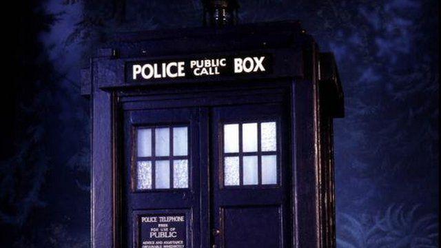 The Dr Who tardis