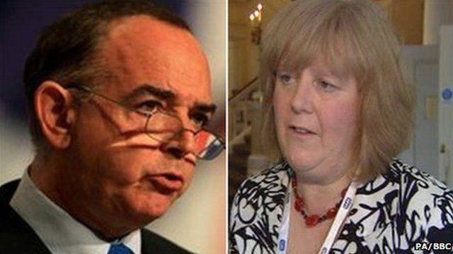 Christine Humphreys and former Welsh Conservative leader Nick Bourne were both given peerages