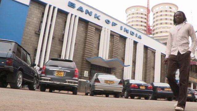 Bank of India in Nairobi