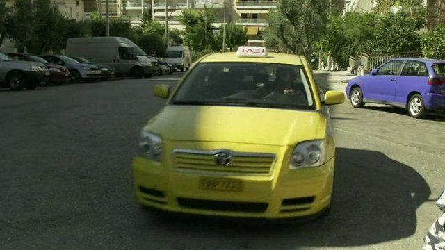 Greek taxi