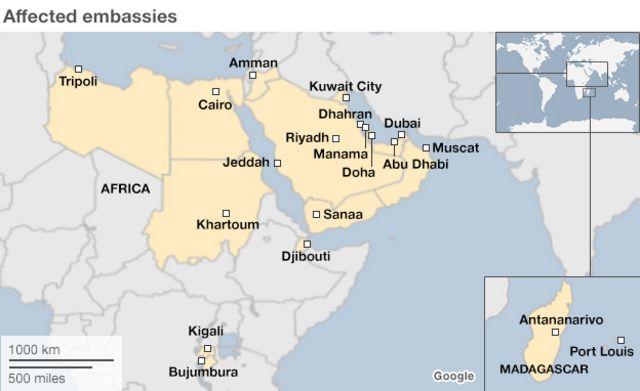 Al-Qaeda leaders' talks 'sparked US embassy closures'
