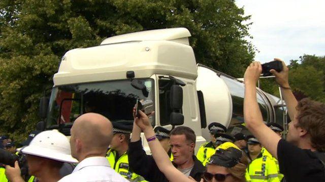 Balcombe protest on Monday