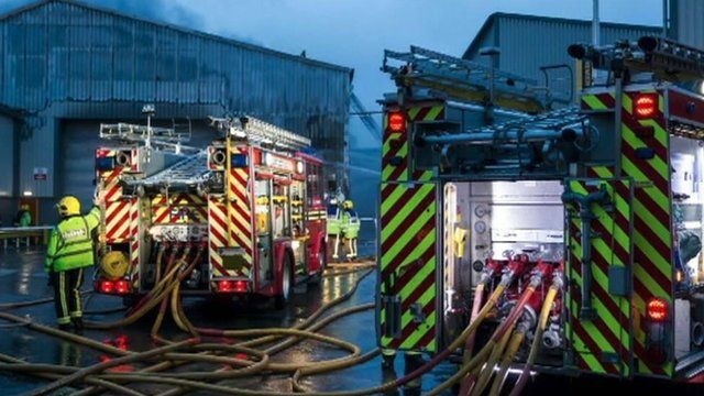 Scene (pic: West Midlands Fire Service)