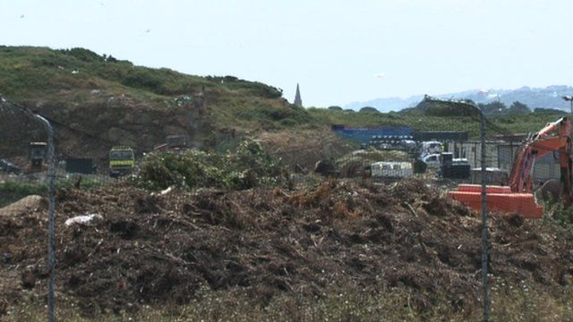 Guernsey's Mont Cuet landfill site