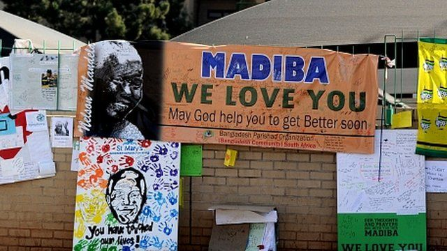 The hospital where Nelson Mandela is being treated