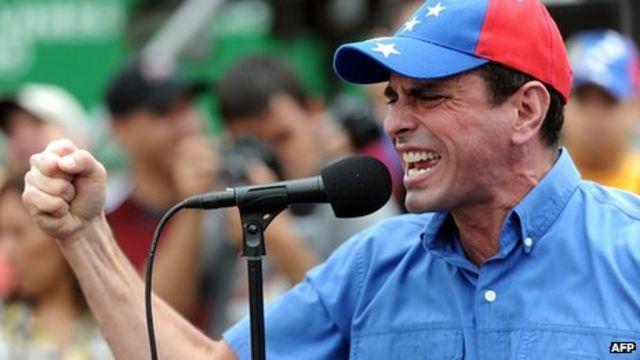 Venezuela top court rejects Capriles' election appeal