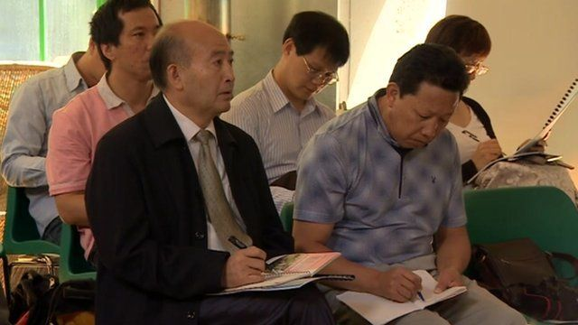 China delegates discuss rural poverty in Gloucestershire