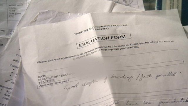 Confidential patient information found in a Somerset house