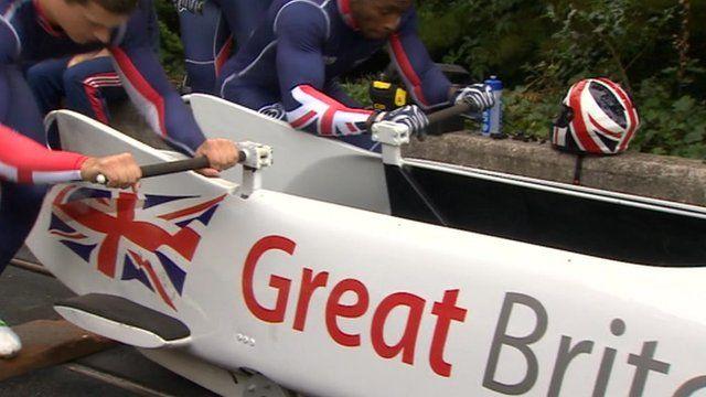 Team GB in Bath