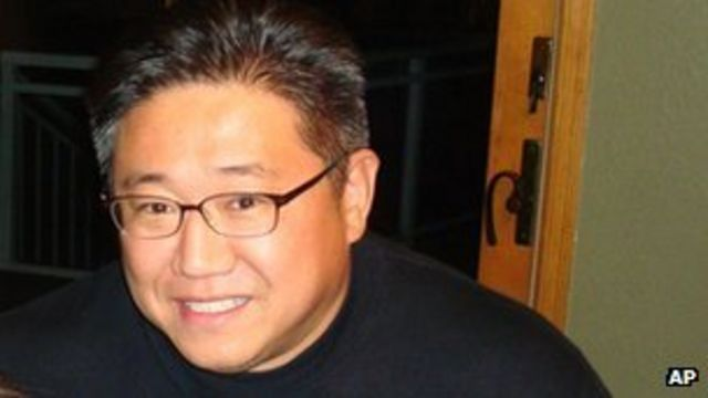 Jailed US man Kenneth Bae's mother in North Korea visit