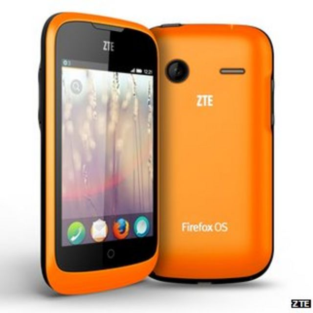 ZTE's new Firefox smartphone will only be sold on eBay