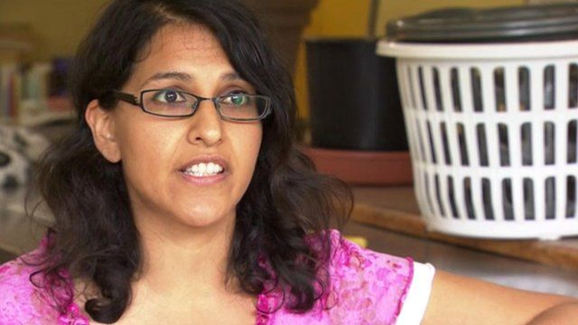 Shezmina Alibhai, laundrette owner