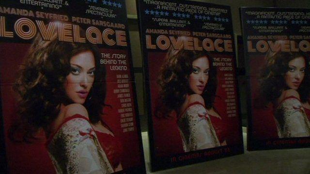 Poster for film 'Lovelace'