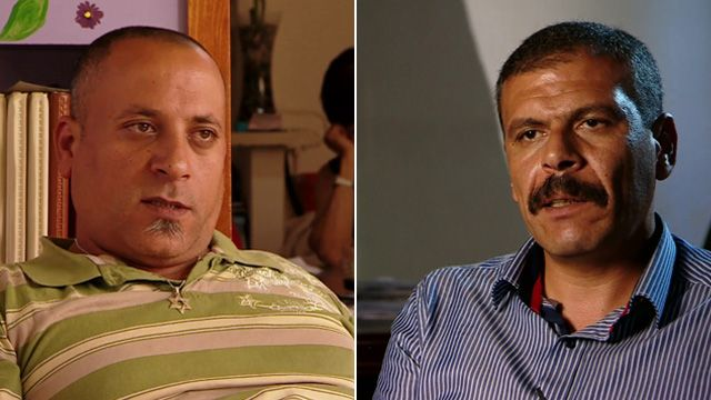 Oded Karamani (l) and Abdel Al Anani (r)