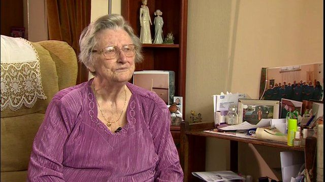 Joan Seville, a friend of the late Joan Edwards who has left over £500,000 to the Coalition in her will