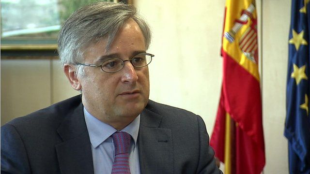 Ignacio Ibanez, director general for foreign affairs at Spain's foreign ministry