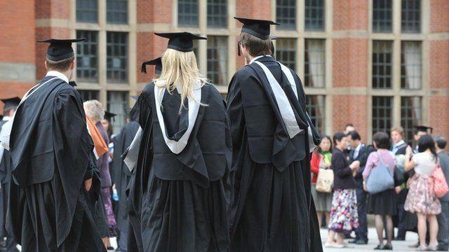 A university graduation day