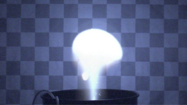 Ball lightning experiment