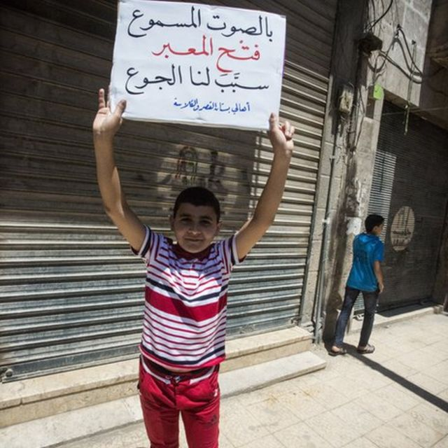 Aleppo: A city where snipers shoot children