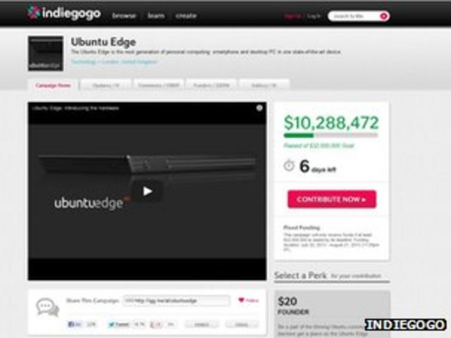 Ubuntu sets crowdfund pledge record for Edge smartphone