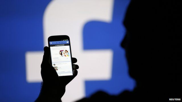 A Facebook user