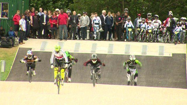 Peckham's new BMX track
