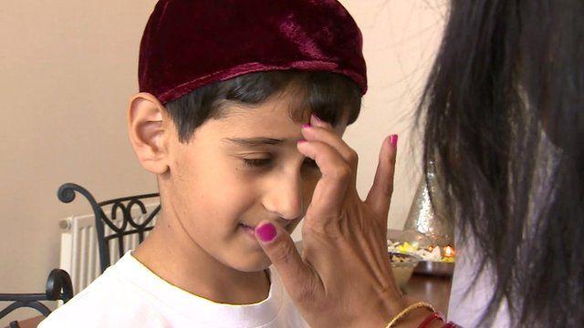 Zoroastrianism boy