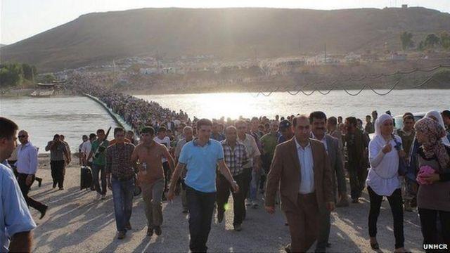 Syria refugees pour into Iraqi Kurdistan in thousands