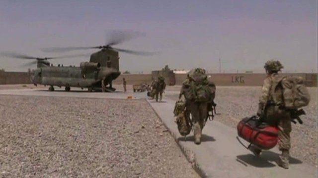 British army troop carrying helicopters