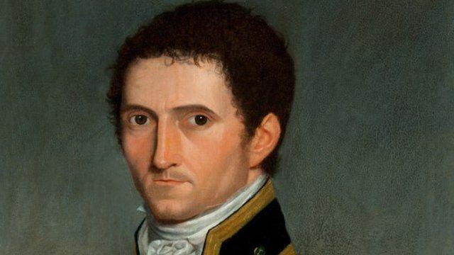 Painting of Captain Matthew Flinders