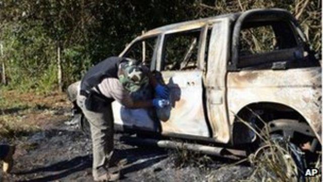 Paraguay 'EPP leftist rebels' kill five in San Pedro