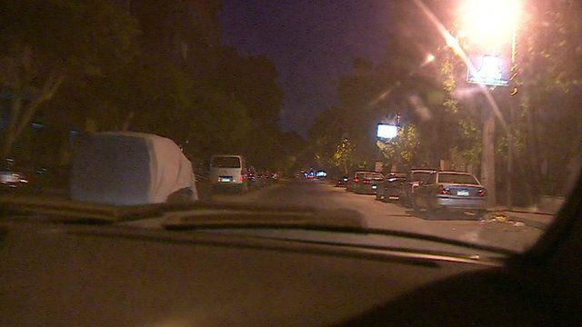 Empty streets in Cairo