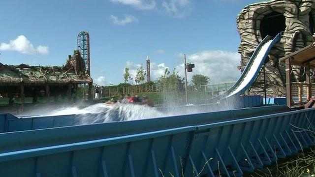 Ride at Oakwood theme park