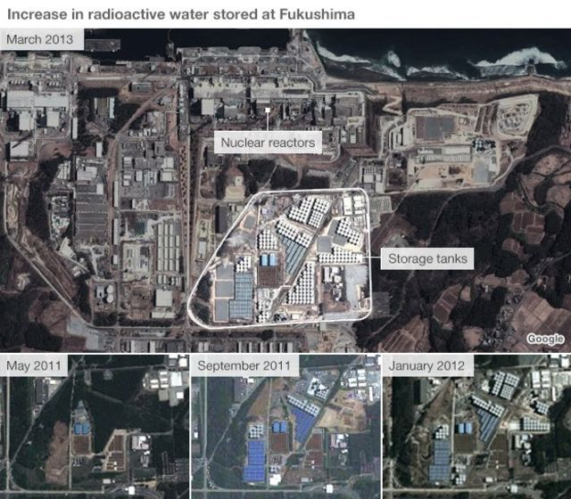 Fukushima leaks: Japan pledges $470m for 'ice wall'