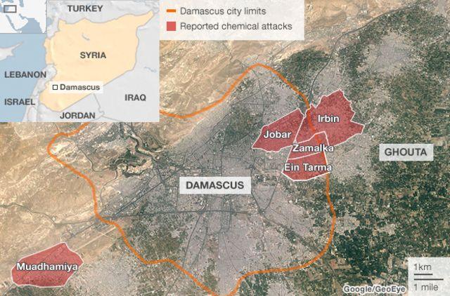 Syria 'chemical' attack: Ban Ki-moon urges swift probe