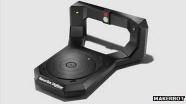 Makerbot Digitizer: Desktop 3D scanner goes on sale