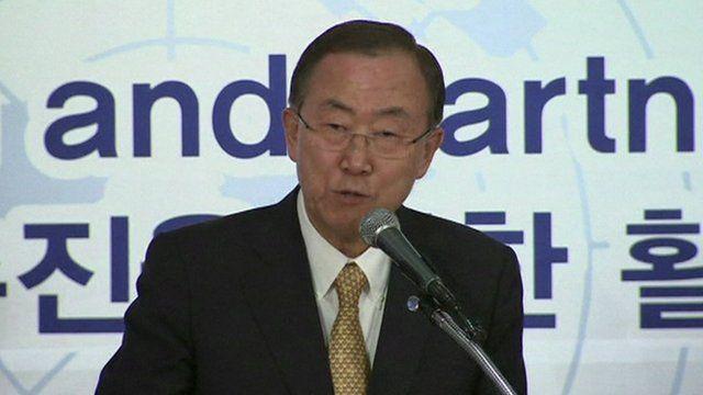 UN Secretary-General Ban Ki-moon