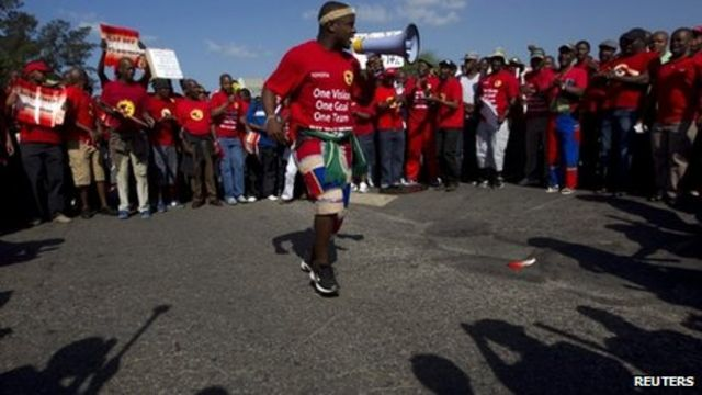South Africa hit by wave of strikes