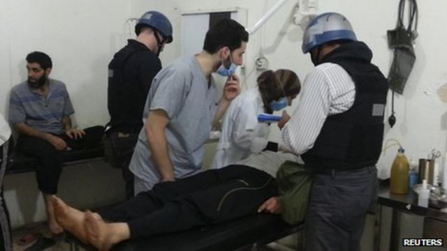 Syria chemical attack undeniable, says John Kerry