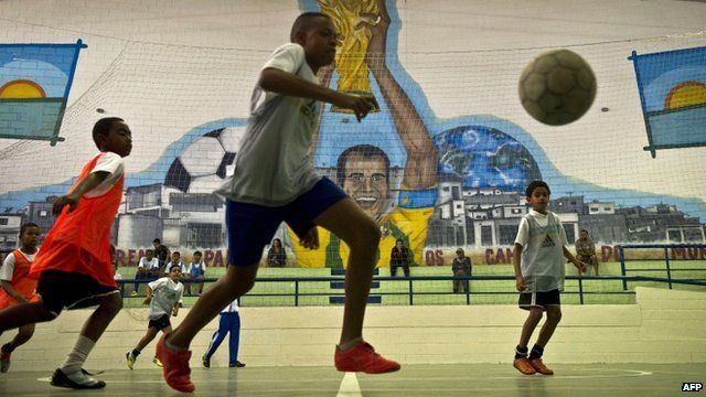 Futsal has been popular in Brazil for decades