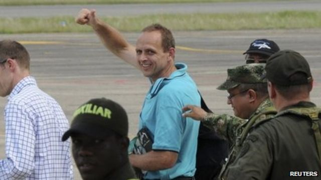 Canadian Gernot Wober freed by Colombia ELN rebels