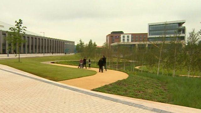 Redeveloped Longbridge site