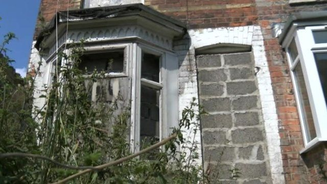 Derelict house, Hull