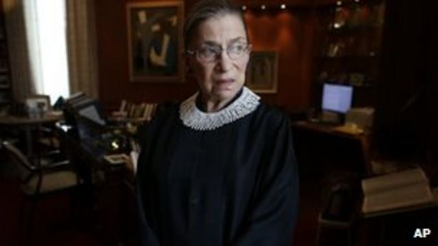 US Supreme Court's Ruth Bader Ginsburg to perform gay wedding