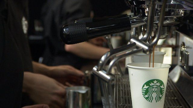 People making coffee