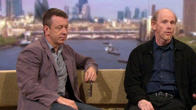 Peter Morgan and Ron Howard