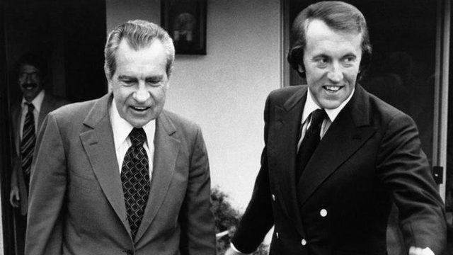 Richard Nixon & Sir David