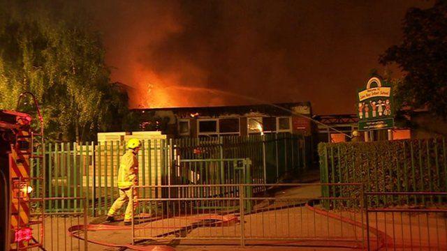John Ray Infants School fire